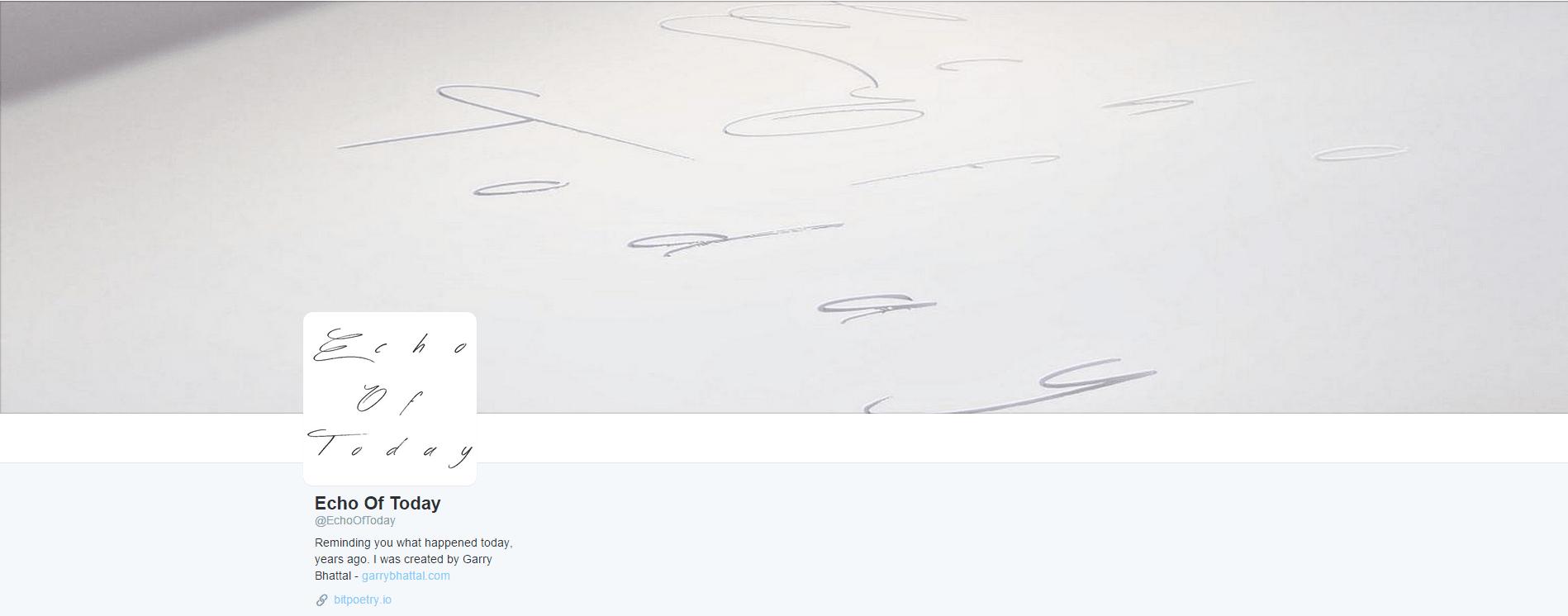 twitter profile screenshot