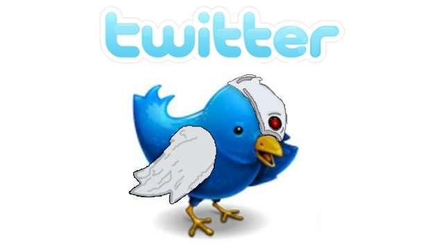 funny Twitter Logo